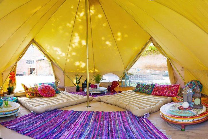 палатки за глампинг