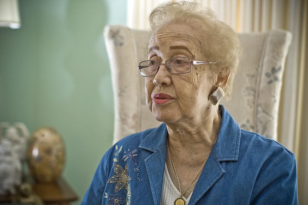 Катрин Джонсън през 2008 г.