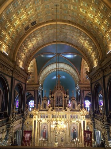 В църквата Свети Стефан