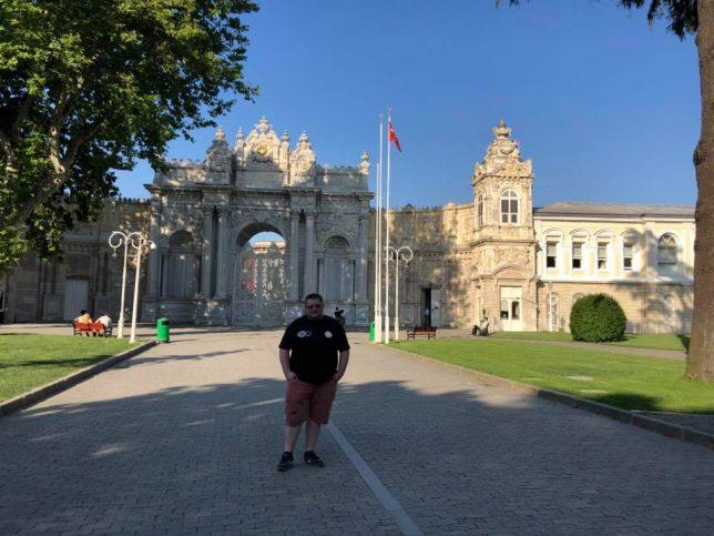 За съжаление, когато пристигнахме, дворецът вече беше затворен.