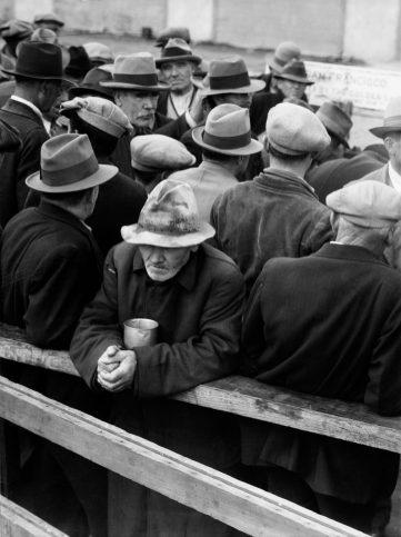 Опашка за хляб. Сан Франциско. 1933 г.