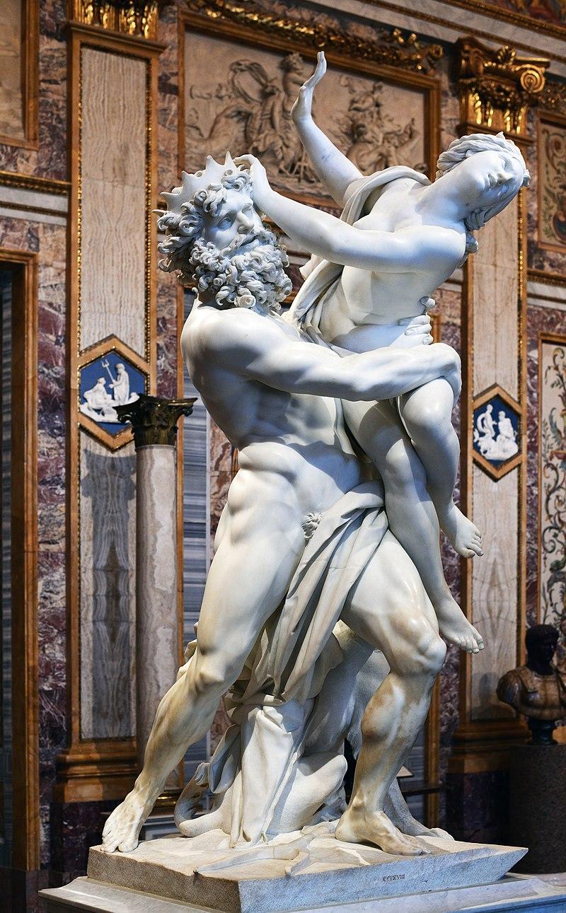 Бернини Похищението на Прозерпина