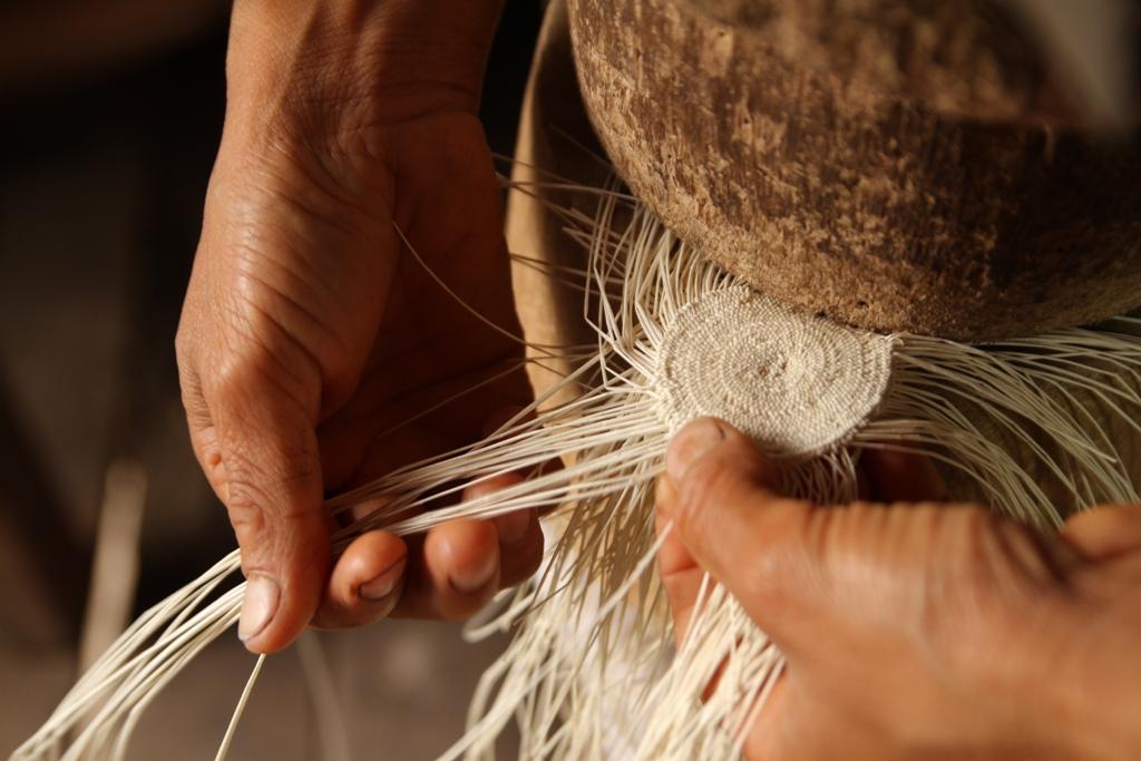 Раждането на една панамена шапка.