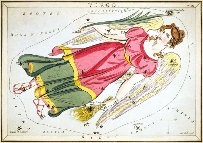 съзвездие зодия Дева