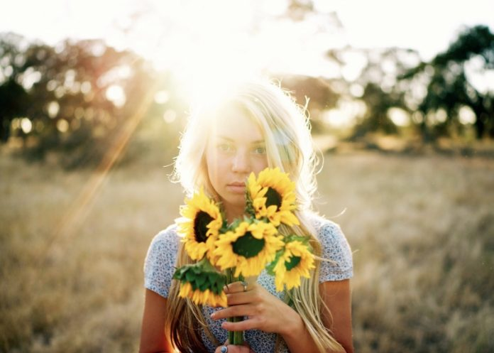 благодаря ти - цветя