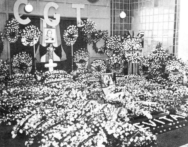 Погребението на Евита Перон