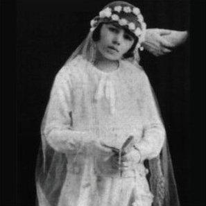 Евита Перон като дете