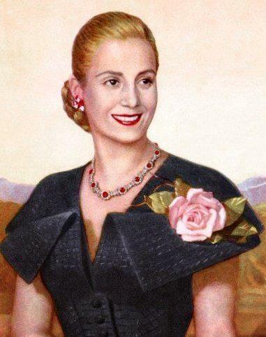 Портрет на Евита Перон
