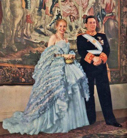 Евита и Хуан Перон