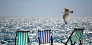 лятото край морето