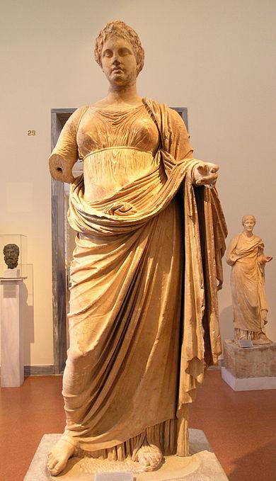 статуя на богинята Темида