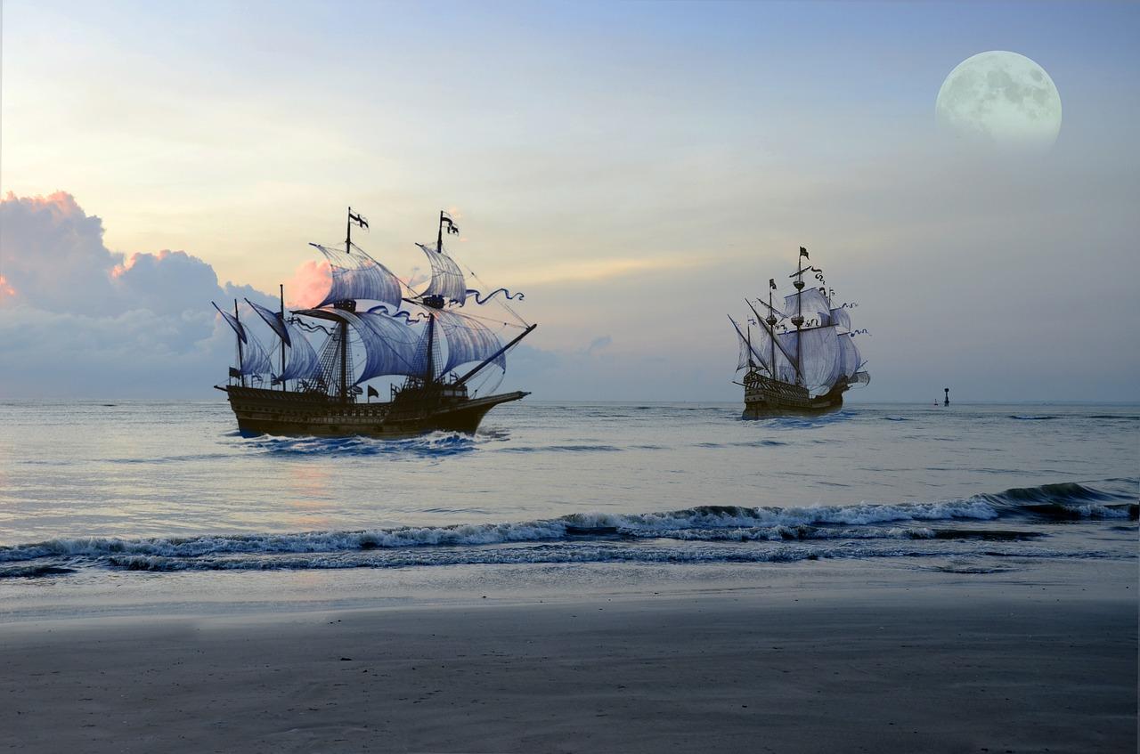 карибски пиратски кораби