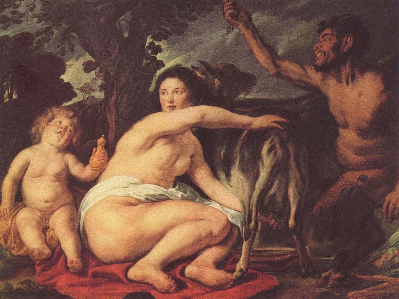 Зевс и Амалтея