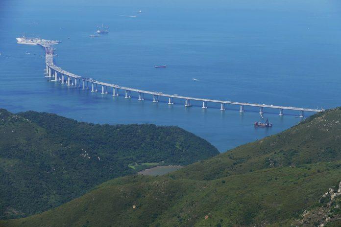 морски мост Китай