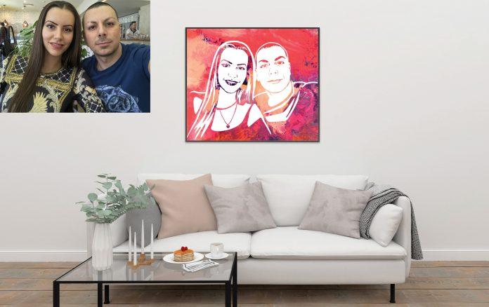 Поп арт портрети