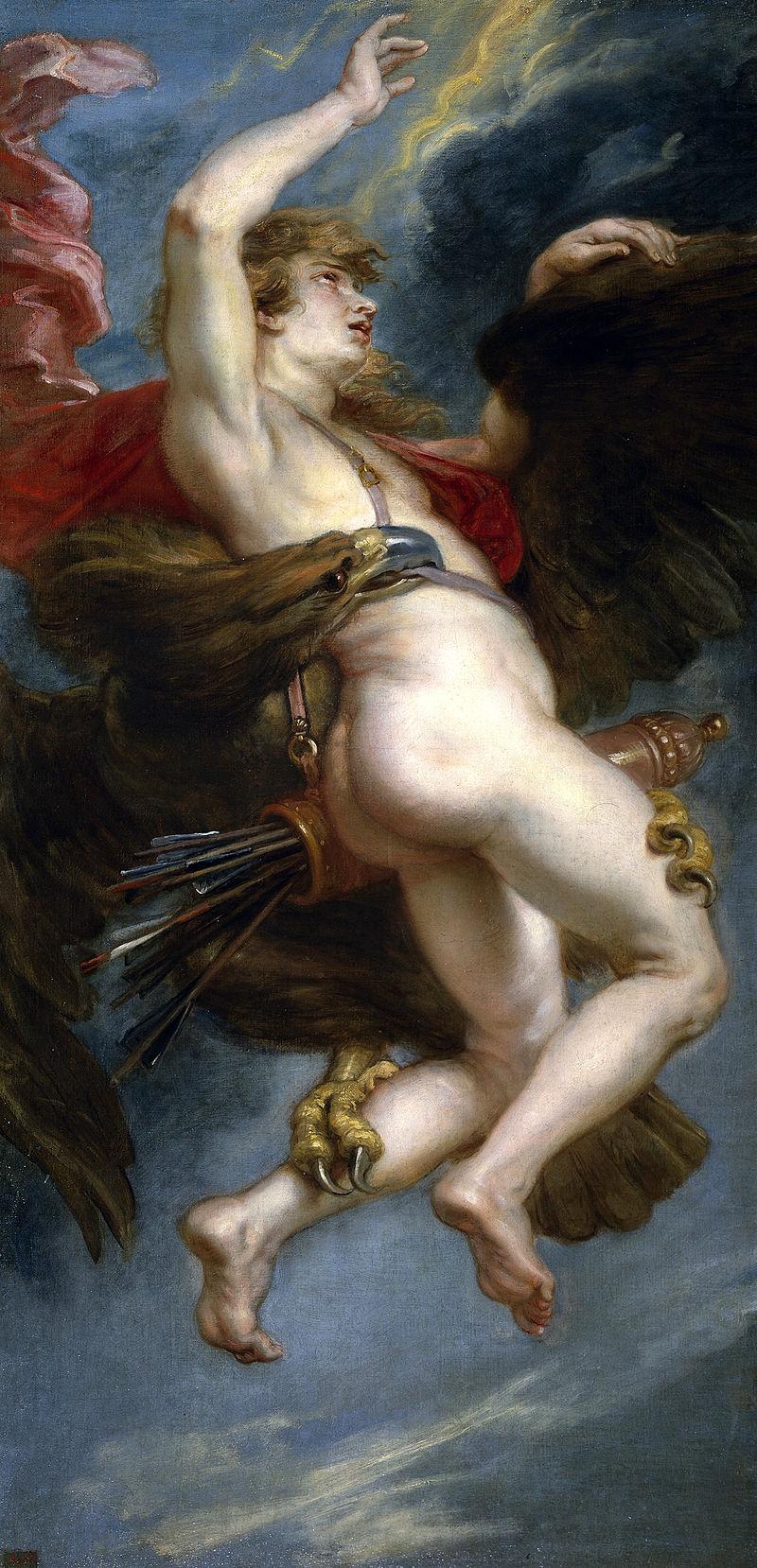 Отвличането на Ганимед от Рубенс
