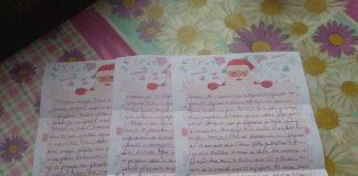 дядо Коледа - писмо