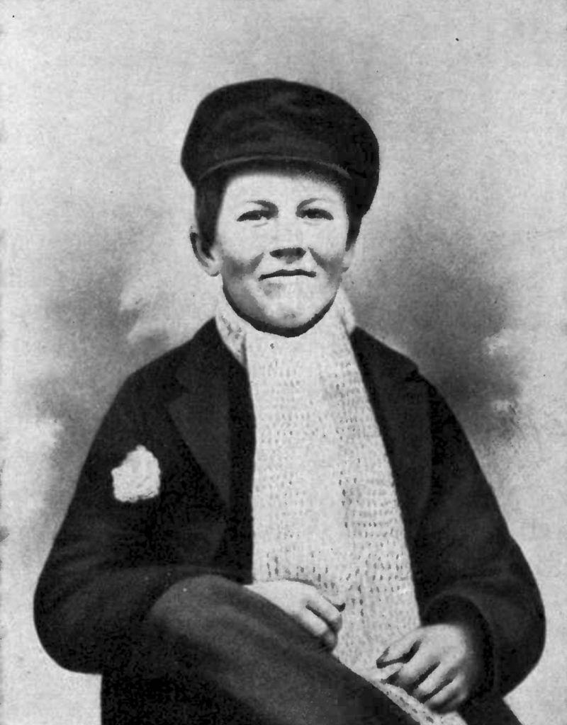 Томас Едисън като дете