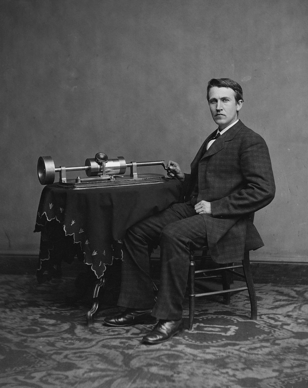 Изобретателят Томас Едисън