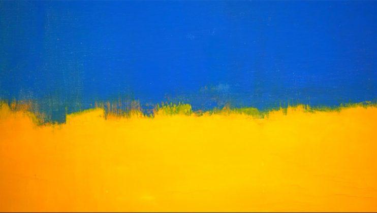 картини с цветно поле